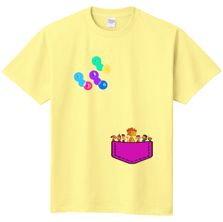 Tシャツ(110cm・130cm) イエロー