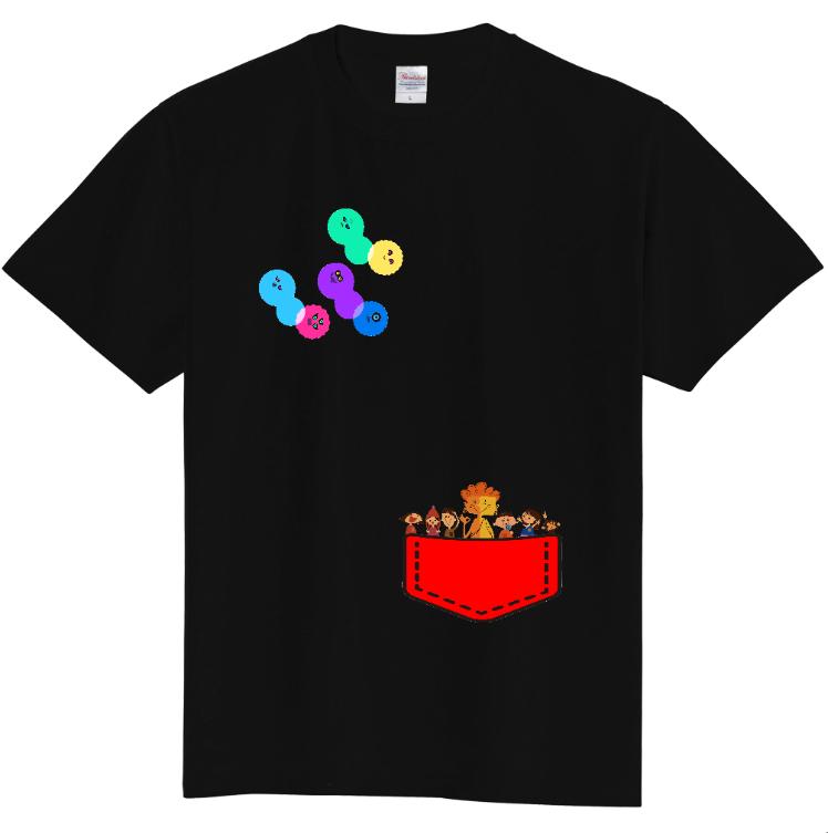 Tシャツ(110cm・130cm) ブラック