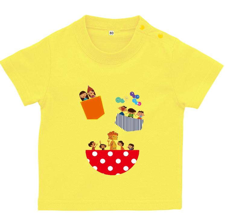 Tシャツ(90cm) イエロー