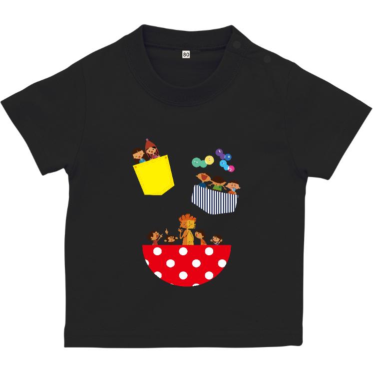 Tシャツ(90cm) ブラック